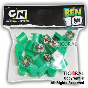 BEN 10 MINI PITO REFERI x 15