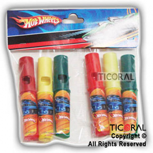 HOT WHEELS MINI PITO TREN x 6