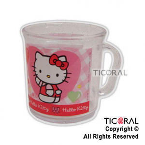 KITTY TAZA GLITTER x 1