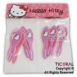 KITTY MINI CEPILLOS x 12