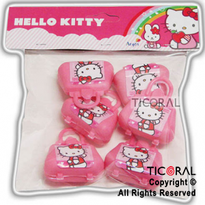 KITTY MINI CARTERITA x 6