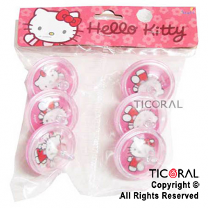 KITTY MINI TROMPO x 6