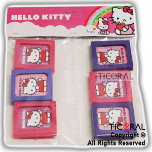 KITTY MINI PORTARRETRATO x 6