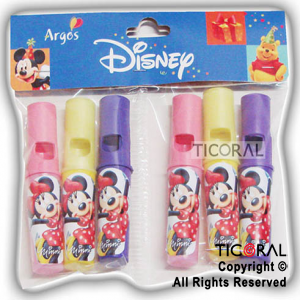 MINNIE MINI PITO TREN x 6