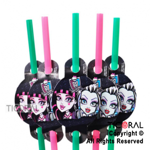 MONSTER HIGH BOMBILLAS x 10