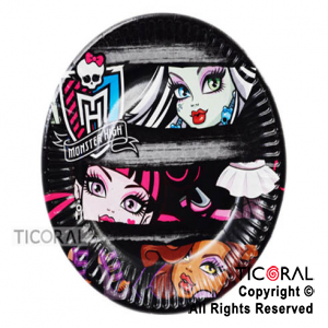 MONSTER HIGH PLATO x 8