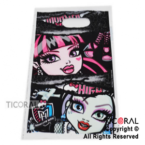 MONSTER HIGH BOLSA DE DULCES X 10
