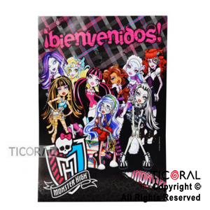 MONSTER HIGH AFICHE x 1