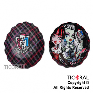 MONSTER HIGH BOWL GALLETERO x 8