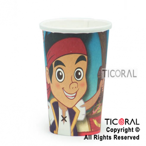 JAKE PIRATAS VASO COTILLON x 10