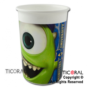 MONSTERS VASO CHICO x 1