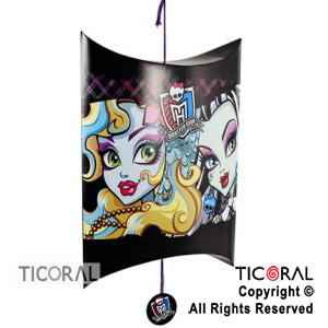 MONSTER HIGH PIÑATA CARTULINA x 1