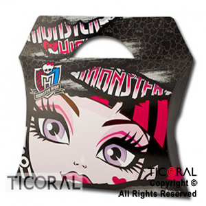 MONSTER HIGH CAJA SORPRESA x 8