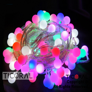 LUZ 28 LED CANICA MULTICOLOR X 1