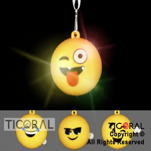 COLGANTE HS7825 EMOTICONES LUMINOSO x 30