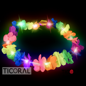 COLLAR HAWAIANO LUMINOSO x 1