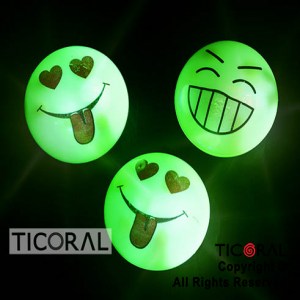 NARIZ EMOTICON LUMINOSO x 12