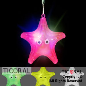 COLGANTE ESTRELLA COLOR LUMINOSO X 48