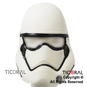 MASCARA STORM TROOPERS STAR WARS GOMA EVA x 1