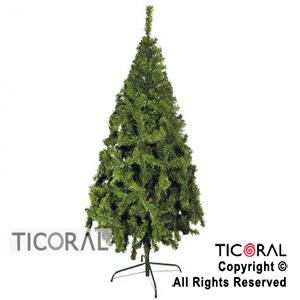 ARBOL 2145 CANADIENSE PREMIUM 2.50 MTS. VERDE BASE DE METAL x 1