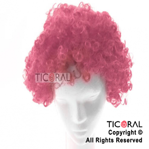 PELUCA HS2144-10 BORDO CURLY x 1