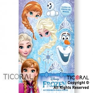 PHOTO PROPS FROZEN X 8