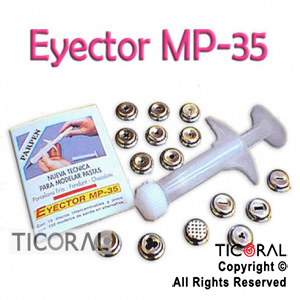 EYECTOR MP35 C/DISCOS METAL x 1
