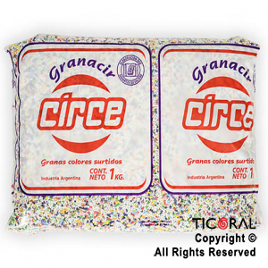 GRANA CIRCE X 1KG MULTICOLOR x 1