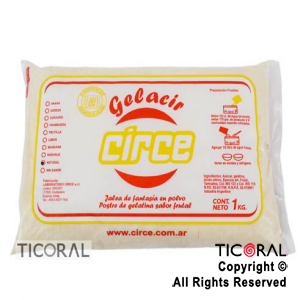 GELATINA NATURAL CIRCE X 1KG x 1