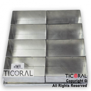 CORT C 1030 SET MINI TORTA RECTANGULAR MEDIANO x 1
