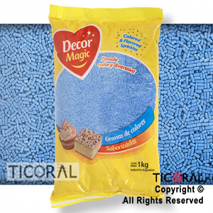 GRANA DECOR MAGIC CELESTESABORIZADA X 1KG x 1