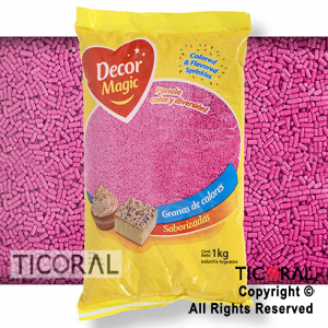GRANA DECOR MAGIC FUCSIA X 1KG x 1