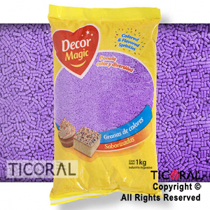 GRANA DECOR MAGIC LILA X 1KG x 1