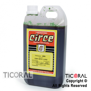 COLORANTE CIRCE LIQUIDO VERDE X 1LT