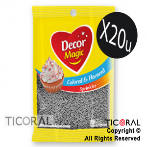 GRANA DECOR MAGIC PLATA SABORIZADA 20 X 50GRS x 1