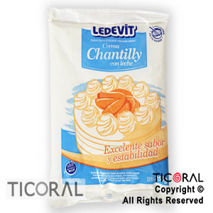 CREMA CHANTILLY X 250GR LEDEVIT x 12