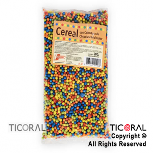 CEREAL CHOCOLATE COLOR MULTICOLOR X200GR ARGENFRUT
