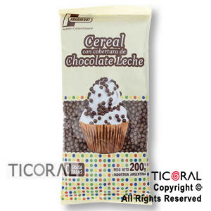 CEREAL CHOCOLATE LECHE X200GR ARGENFRUT