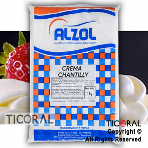 CREMA CHANTILLY ALZOL X1KG x 1
