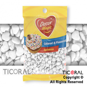 FORMITAS PARA CUPCAKES CORAZON BLANCO 1 X 50GRS DECOR MAGIC