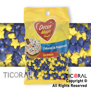 FORMITAS PARA CUPCAKES ESTRELLA BOSTERO 1 X 50GRS DECOR MAGIC