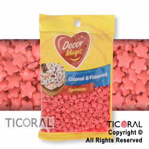 FORMITAS PARA CUPCAKES ESTRELLA ROJA 20 X 50GRS DECOR MAGIC
