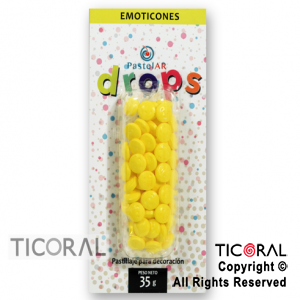DROPS BLISTER SUPER EMOTICONES X 36