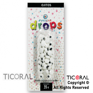 DROPS BLISTER OJITOS X 36