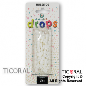 DROPS BLISTER HUESITOS X 36