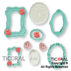 SET CANDY BAR TEMATICA SHABBY CHIC 1 x 80 UNIDADES