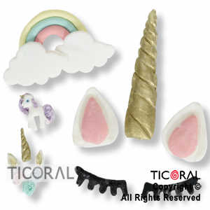 SET CANDY BAR TEMATICA UNICORNIOS 1 x 71 UNIDADES