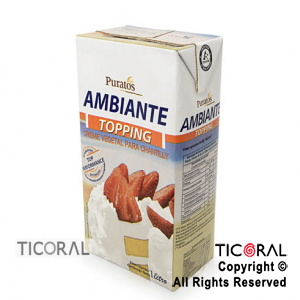 CREMA CHANTILLY AMBIANTE 1LT X 1