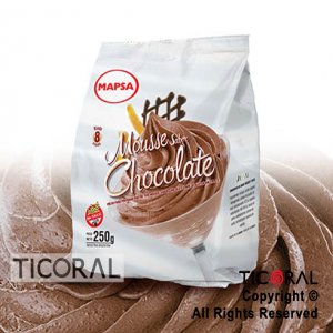 MOUSSE CHOCOLATE X 250GR x 12 MAPSA
