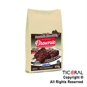 MIX PARA BROWNIE DE CHOCOLATE X 500GR LEDEVIT x 1